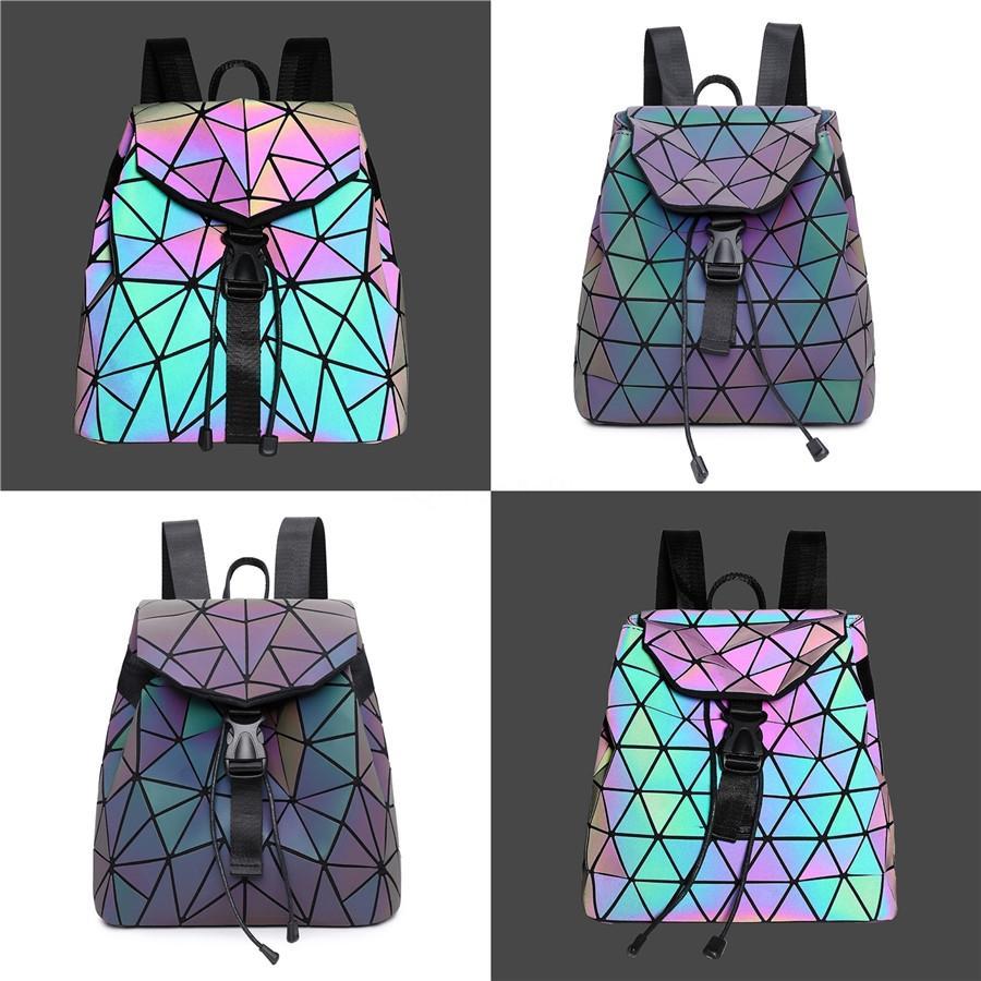 Designer-nouvelle mode des femmes gros-sacs géométrique Shell Sac à carreaux Zipper Sac à main Sillonnez Femme Sac Laser Femme Sacs simples, Cj0200 # 705