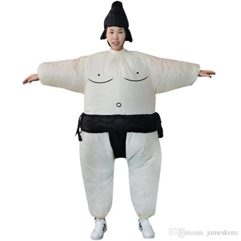 Костюмы талисмана японского сумо Halloween Party Dress Wrestling Реквизит Смешные костюмы