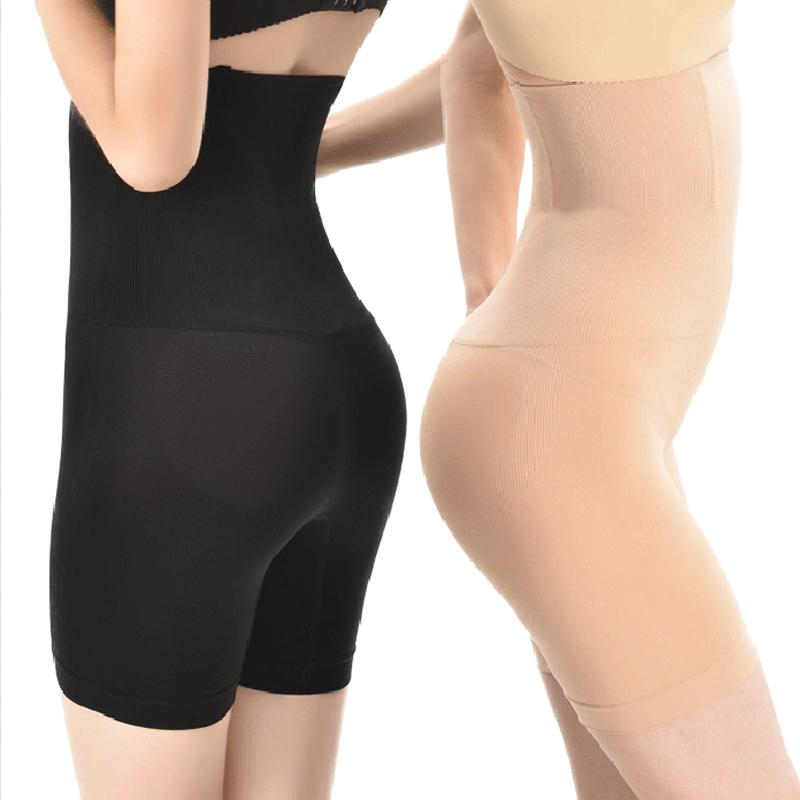 Women High Waist Shaping Panties Breathable Body Shaper Slimming Tummy Underwear Panty Shapers
