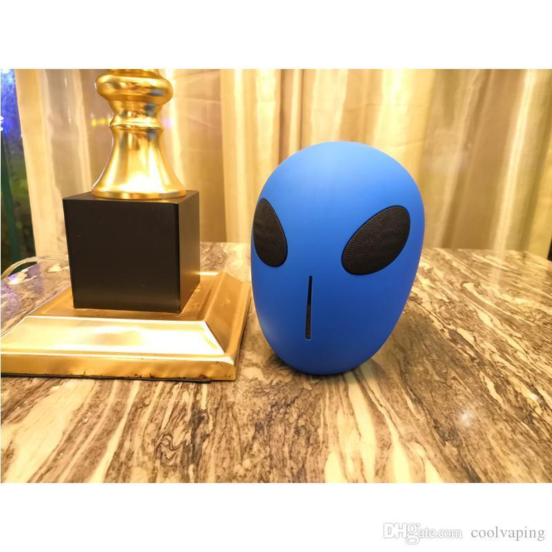 X18Alien Wireless Bluetooth Speaker Личность Портативные аудио Sound Box USB TF подарок радио MP3-плеер с помощью DHL