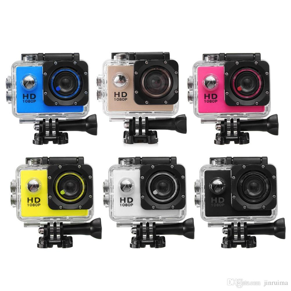 2020 New Underwater Diving Camera Waterproof Full Sports DV Video Camcorder 1080P HD Sports DVR Cam DV Video Camcorder