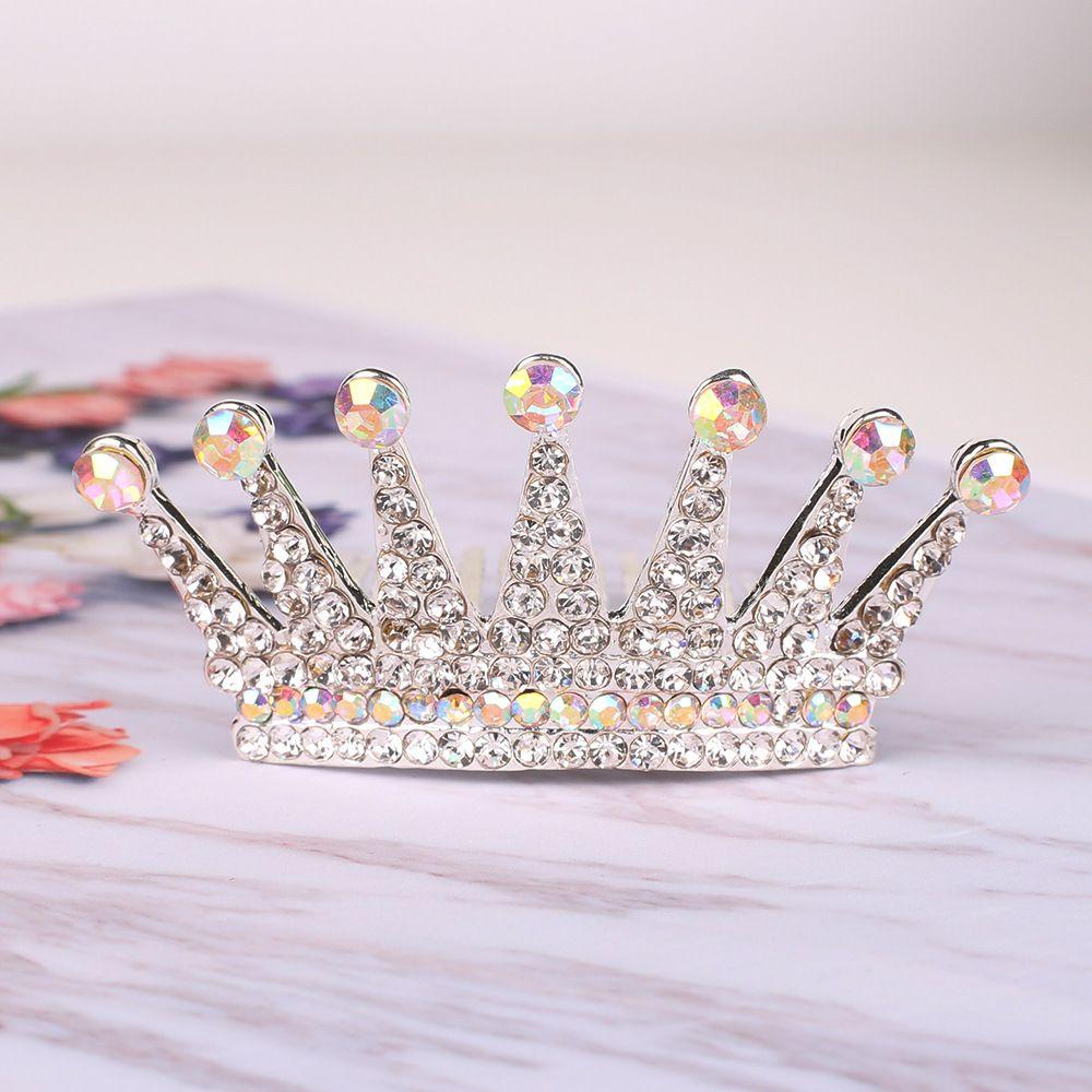 Yeni Çocuk Süsler Kore Versiyonu Saç Cmb Taç Saç Kızlar Elmas Headdress Prenses Firkete