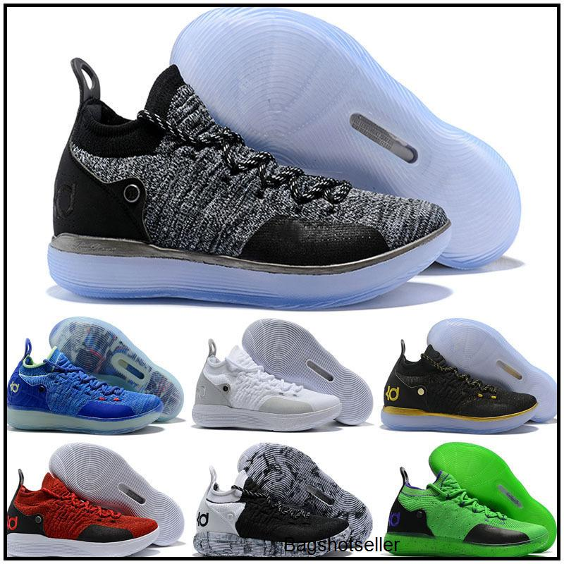 KD 11 Gold Splatter KD Paranoid EYBL Twilight Pulse Cool Grey Mens Kids Basketball Shoes Zoom Kevin Durant 11 Sport Shoes Sneakers
