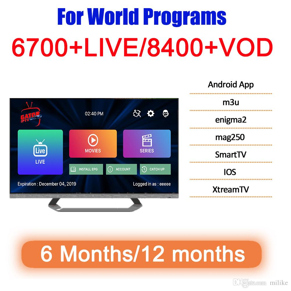 Для World TV 1год Франция Италия Германия Испания Португалия Arabic код M3U Android Канада Французский умный IP TV грек Турция Швеция Подписка