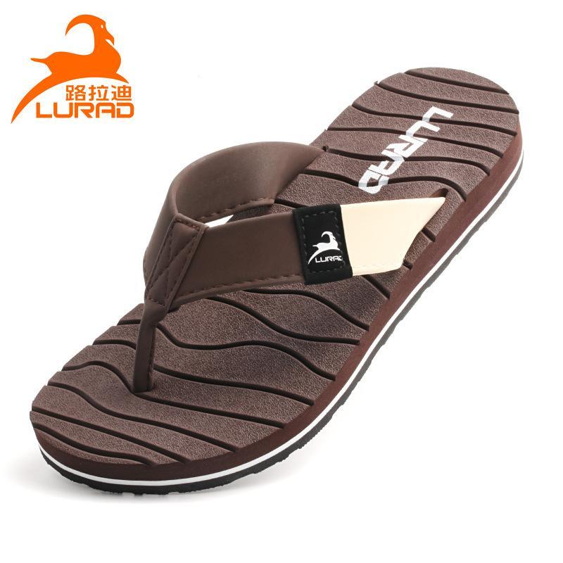 Luladi manera de los hombres de las chancletas de verano antideslizante transpirable sandalias flip-flop de los hombres de moda casual sandalias