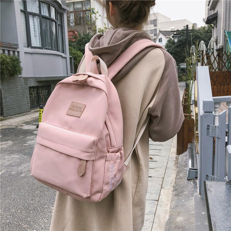 Amazing2019 Feeling Ancient Girl A Bag Original Old Ulzzang High Middle School Student Both Shoulders Package University Campus Backpack