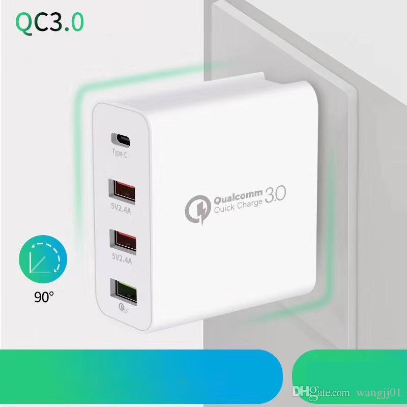 48W USB зарядное устройство быстрой зарядки 3,0 QC3.0 Быстрая зарядка мобильного телефона зарядное устройство для iPhone Samsung Xiaomi QC 3 0 Новый