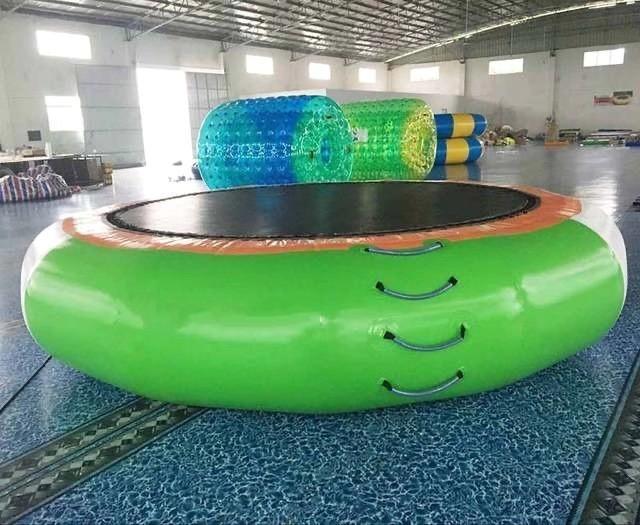 diametro trampolino gonfiabile di trasporto 3m