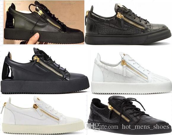 패션 운동화 남성 여성 아레나 캐주얼 신발 정품 지퍼 레이스 러너 신발 야외 트레이너와 함께 상자 큰 크기 35-47