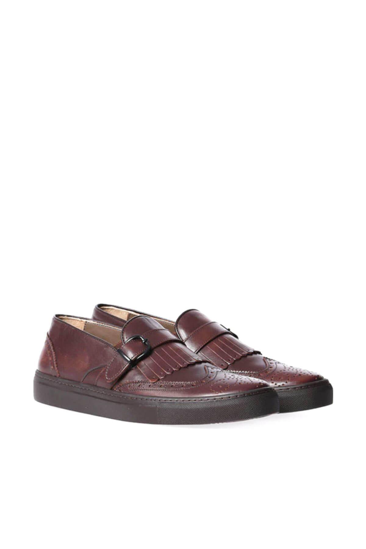 Derimod couro genuíno Homens Coffee 'S Shoes