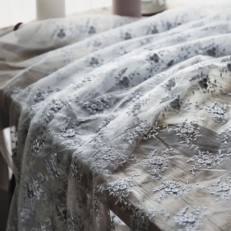 0,5Й Золотой шелк небольшая сломанного цветка водорастворимая ткань выдолбленной вверх вышивки прозрачной чистой пряжи платье окна марлевой ткань