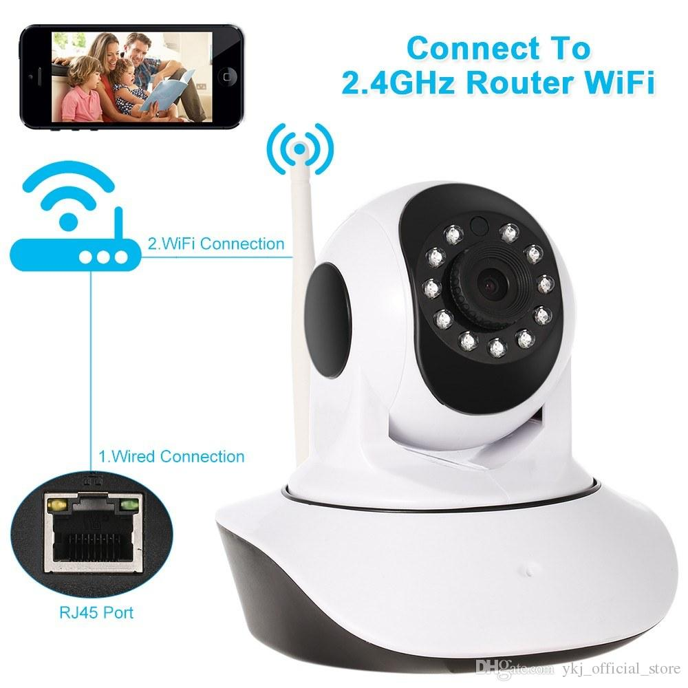Wifi IP Camera Surveillance 1080P HD Night Vision Pan Tilt Two Way Audio Wireless Video CCTV Camera Baby Monitor Home Security System