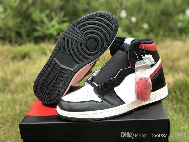 2019 Yüksek Kalite 1s OG Yüksek Siyah Sneakers UNC Açık Eğitmenler Mens 1s Mahkemesi Mor beyaz Basketbol Ayakkabıları