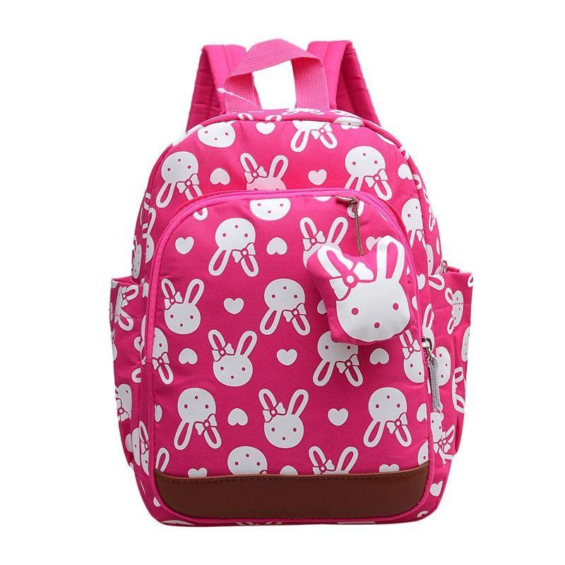 Mochilas Escolares Infantis Anti-lost Children's Backpacks Cute Cartoon Backpack Kids School Bags Girls Bag 1 ~ 6 Years Old Y190601