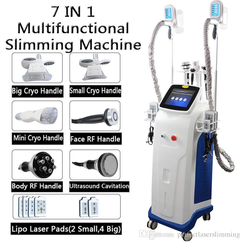 máquina crioterapia emagrecimento li po cavitação laser de dedução gordura dispositivo rf máquina vácuo corpo emagrecimento gordura congelamento única