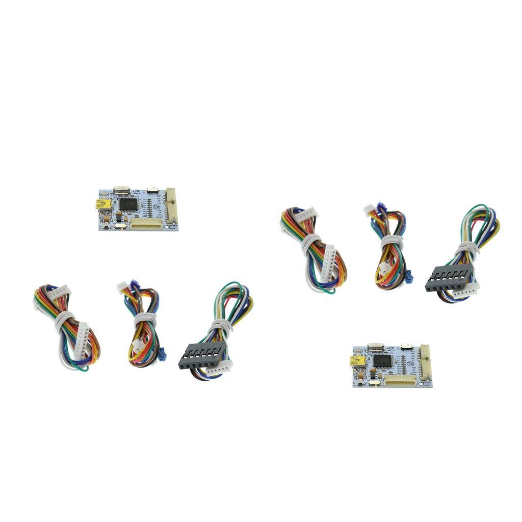 2PC TX J-R programador V2 W / 3 Cabos Conjunto de peças para o Microsoft XBOX 360 Slim