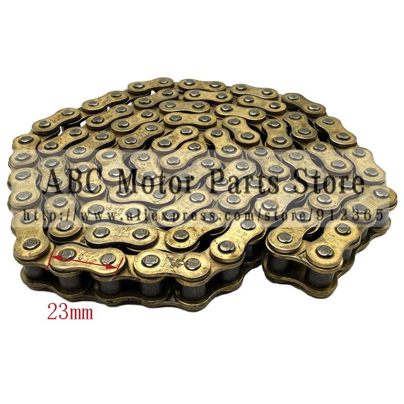 428 104 LINKS GOLD DRIVE CHAIN FOR PIT PRO DIRT BIKE ATV QUAD 125cc 140cc 150cc Chinese