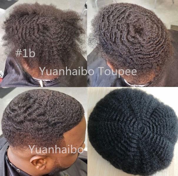 6mm Afro Hair Lace Toupeee Para Jogadores de Basquete e Fãs de Basquete Europeu Virgem Humano Cabelo Afro Kinky Curl Homens Wig Grátis Shippinng
