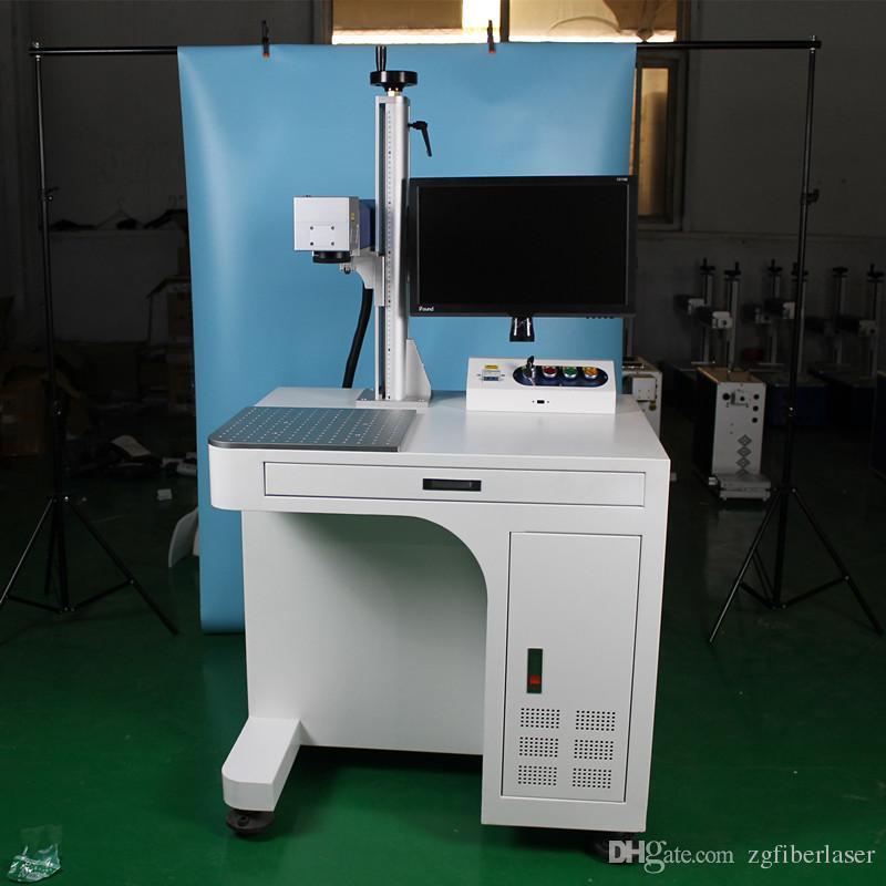 موبا لون بمناسبة مكتب نوع 20 واط ألياف الليزر آلة وسم للمعادن أو الخشب المقاوم للصدأ الذهب والفضة والمجوهرات بمناسبة