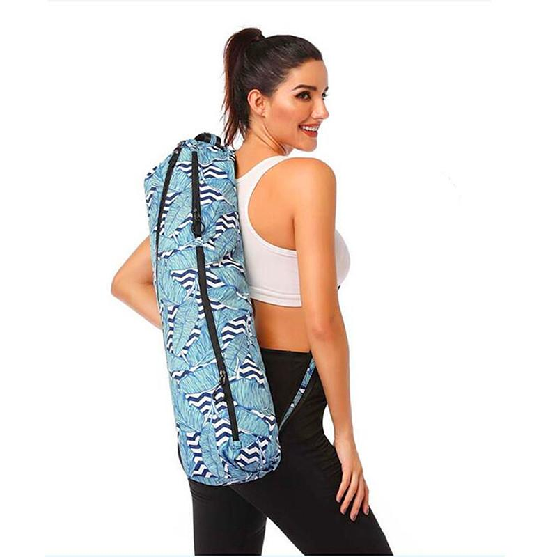 Yoga Bag Women Bag Sports Multifunction Waterproof Professional Printed Yoga Mat Canvas Yoga Mat Bag