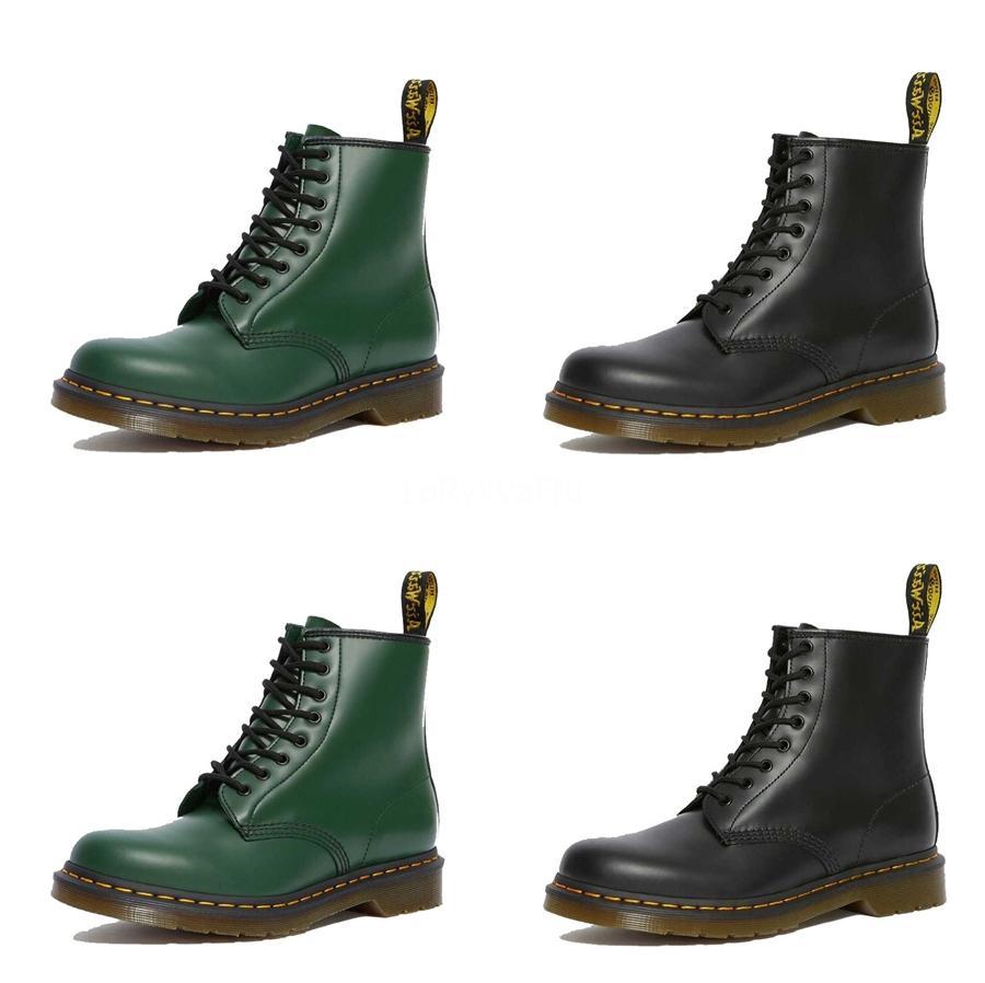 2020 Mulheres Botas Couro Zippers Rodada Toe Praça Salto Alto Mulheres Martin Botas paltform Shoes Ch-B0045 # 719