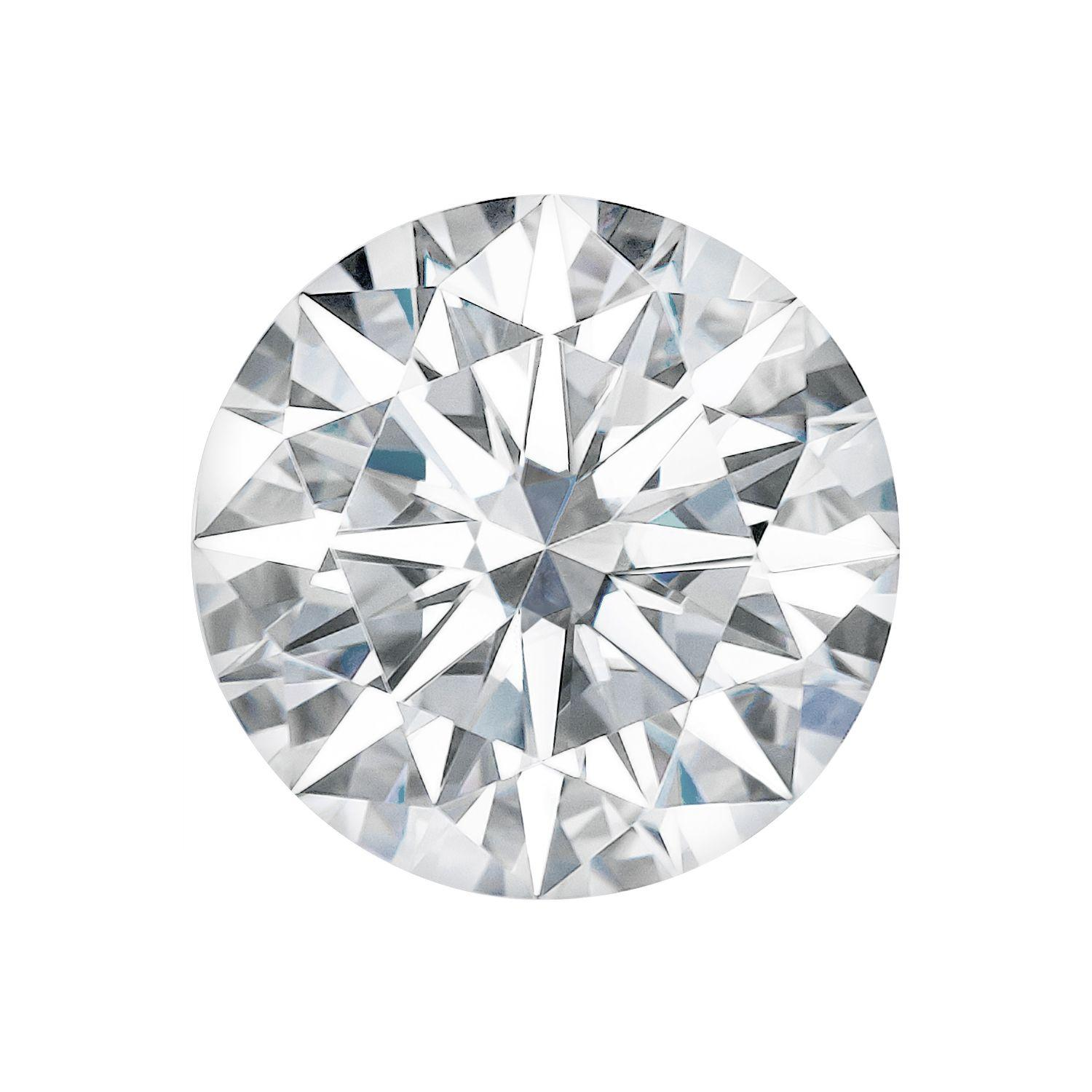 Champagne Color Real Loose Moissanite Round Diamond Cut Best For Ring VVS 5.0 MM