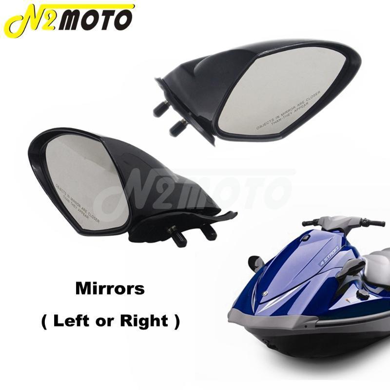 VX 110 LH RH WaveRunner Motonautisme Black Mirror 2005 2006 2007 2008 2009 VX110 Deluxe / ABS Cruiser Vue arrière Miroirs