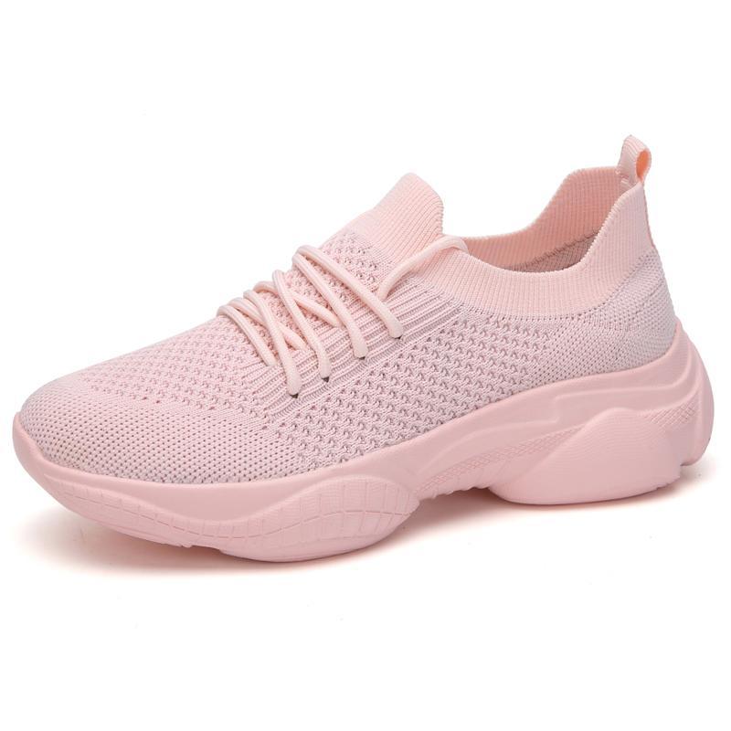 Işık Kadınlar Sneakers Rahat Nefes ABS ve aşınmaya dayanıklı Yüksekliği Artırma 5 cm Spor Ayakkabı Kadınlar