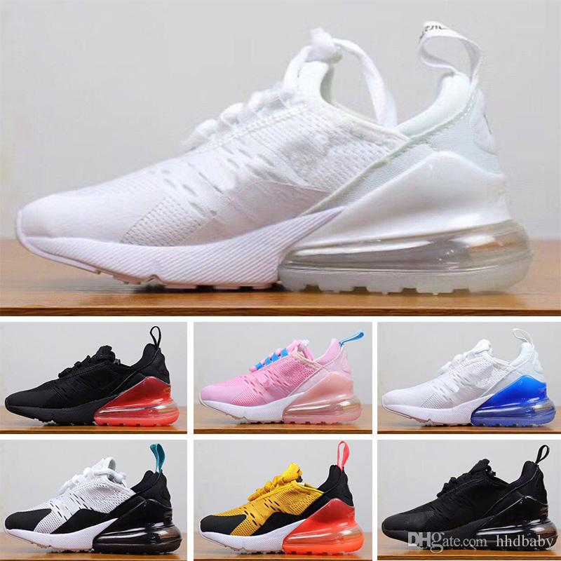 chaussure fille air max 270 rose