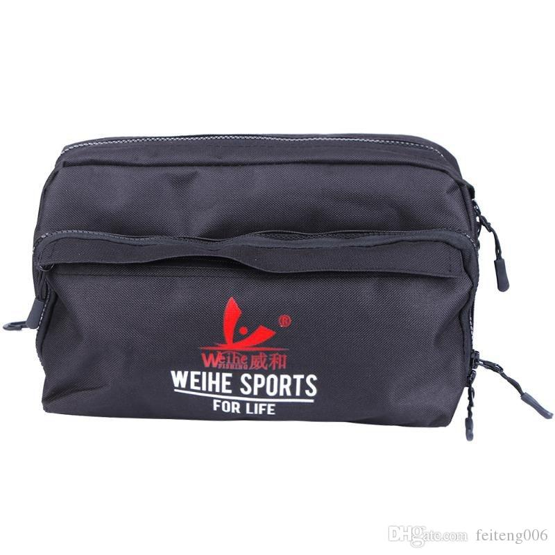 HOT-WEIHE Multifunctional Outdoor Fishing Bag Nylon Waist Bag Shoulder Reel Lure Waterproof Bags Pesca Fishing Tackle Drop #847993