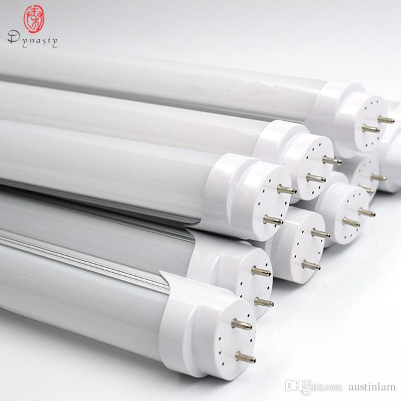 30PCS/LOT LED T8 Tube 20W Light Replace of Traditional Ballast T8 Fluorescent Super Brightness Energy Saving 120CM 4Feet Dynasty Free Ship