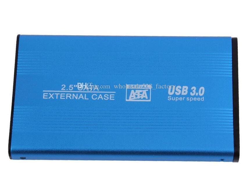 제품과 함께 2.5 인치 USB 3.0 HDD 외장 케이스 하드 드라이브 디스크 SATA 외장형 스토리지 인클로저 박스 하드 디스크 알루미늄 합금