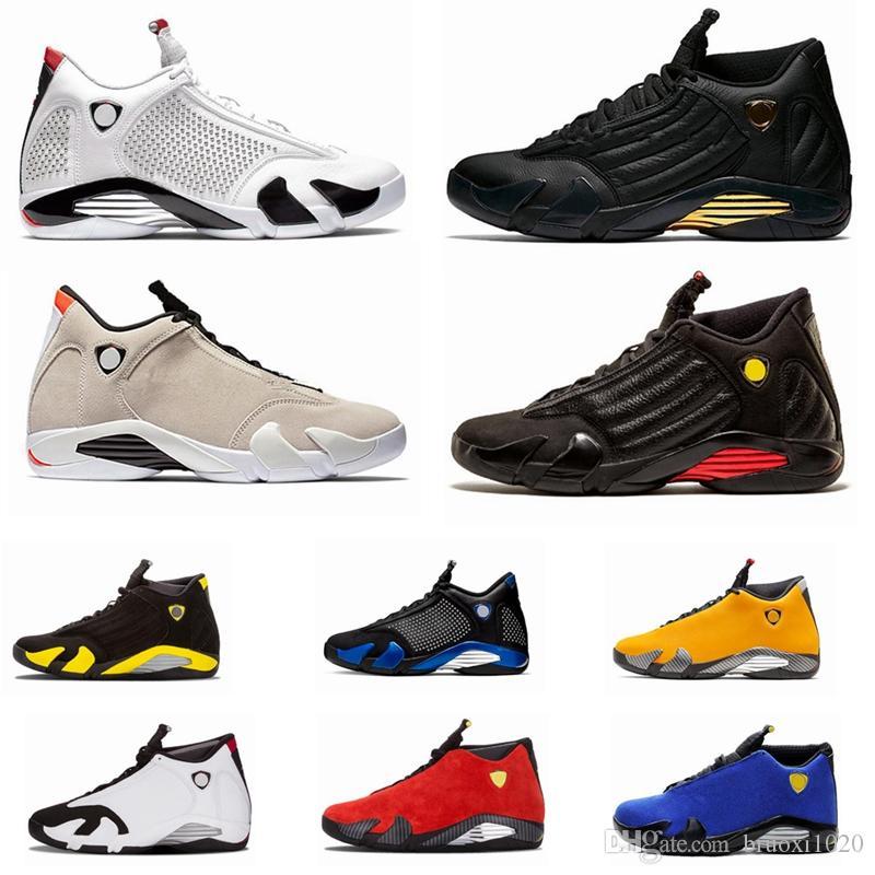 Jumpman 14s Erkek Basketbol Ayakkabı Varsity Kraliyet Kırmızı Ters Spor Eğitmeni Ferrar Son Shot Siyah Burun Basket Ball Sneaker Des Chaussures