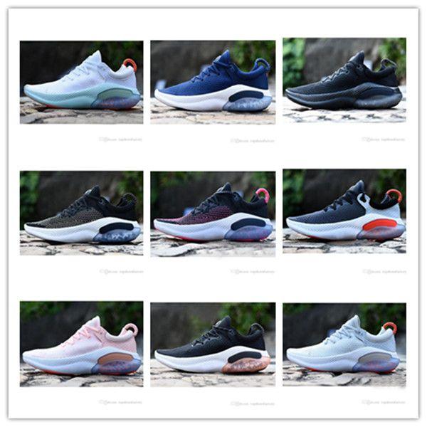 2020 newJoyride Run FK chaussures de sport pour les hommes et les femmes dans les chaussures de sport concepteur de course de platine blanc et bleu blanc taille 36-45