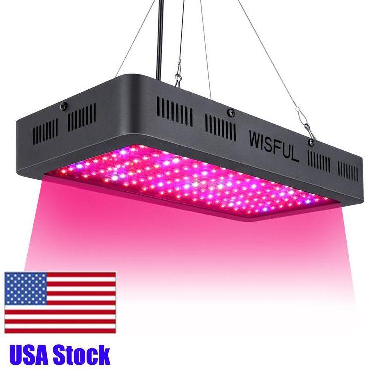 1500W Wachsende Lampen mit 8 Bands Vollspektrum UV IR-Farbverhältnis für Innenanlagen Gemüse und blühende LED Wachsen-Licht USA-Bestand
