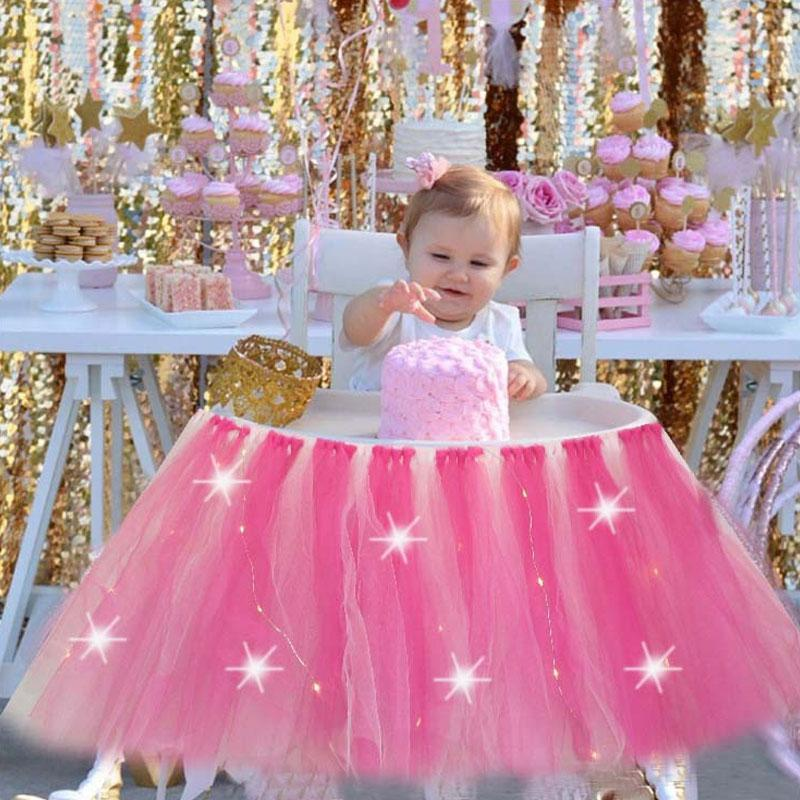 Brilliant 2020 One Year Old Children Birthday Party Tutu Chair Skirt Infant Personalised Birthday Cards Cominlily Jamesorg