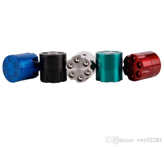 30MM 소형 불렛 클램프 분쇄기의 직접 스팟 공급 컬러 믹싱 아연 합금 크리 에이 티브 새로운 담배 피팅