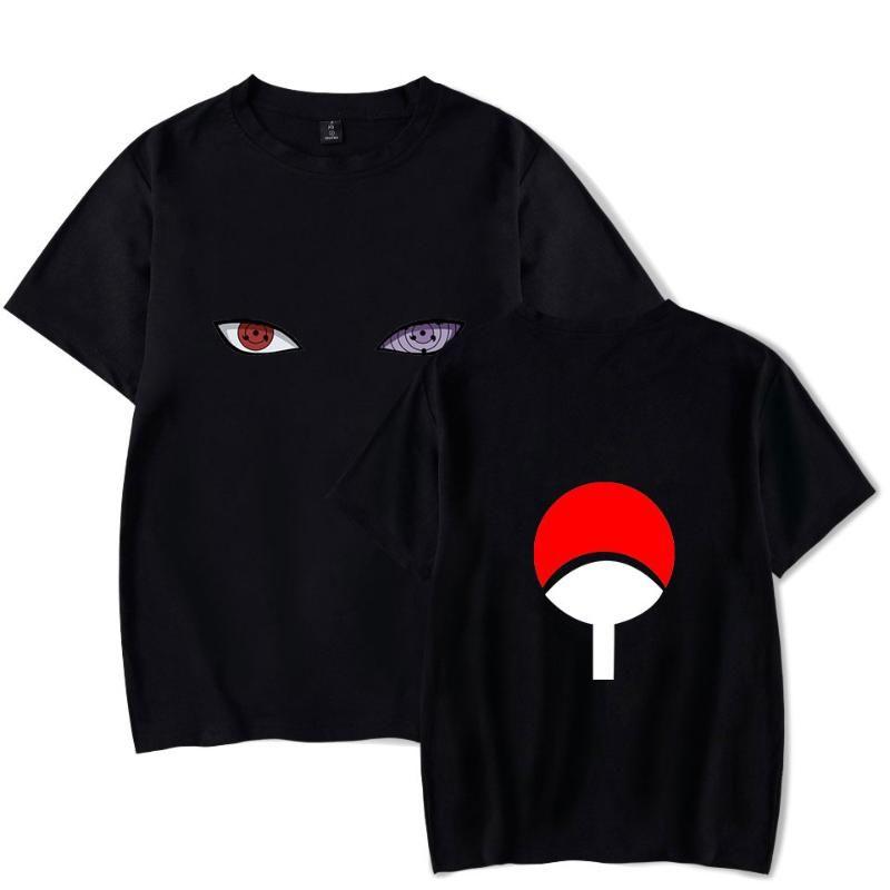 나루토 T 셔츠 남성 / 여성 패션 힙합 하라주쿠 고품질 애니메이션 나루토 T 셔츠 스트리트 캐주얼상의 티를 인쇄