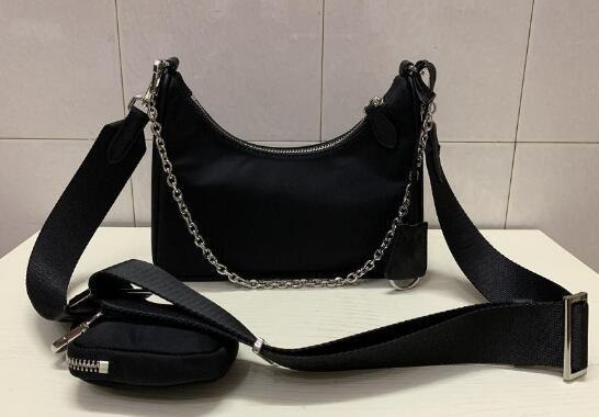 2020 sacos de ombro de alta qualidade nylon Bolsas Bestselling carteira mulheres sacos Crossbody Saco de Hobo bolsas com