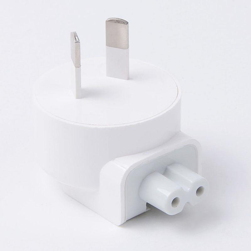 Parede ac destacável au plugue elétrico cabeça de pato para apple ipad iphone usb carregador adaptador de alimentação macbook