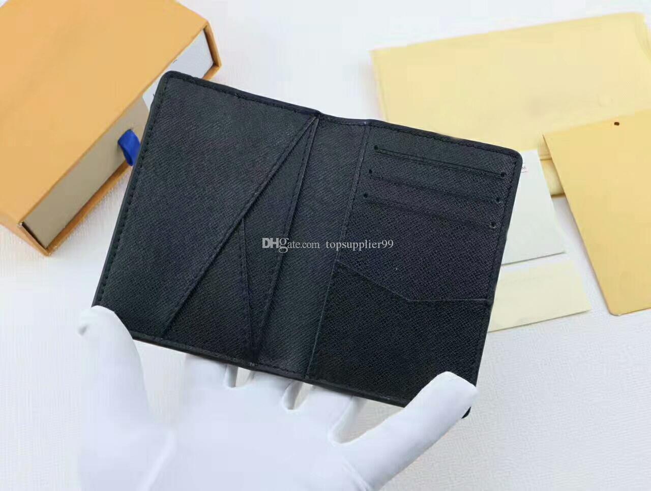 Für 4 Farbe Berühmte Marke Frauen Männer Kartenhalter Kurze Geldbörsen Aus Echtem Leder Hohe Qualität Passport Wallets Freies Verschiffen A3