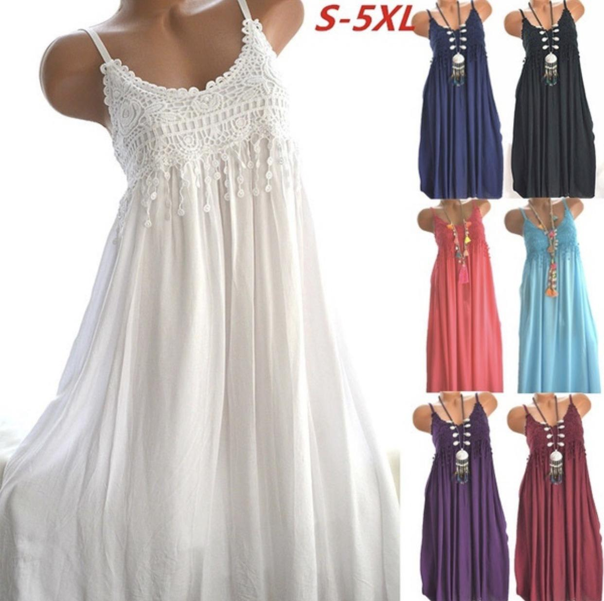 224a5e5ce QuickSelling Wish Amazon Sells Blockbuster Sexy Lace Suspenders With Long  Dresses In Seven Colors And Eight Yards In Stock Tight White Dresses For  Juniors ...