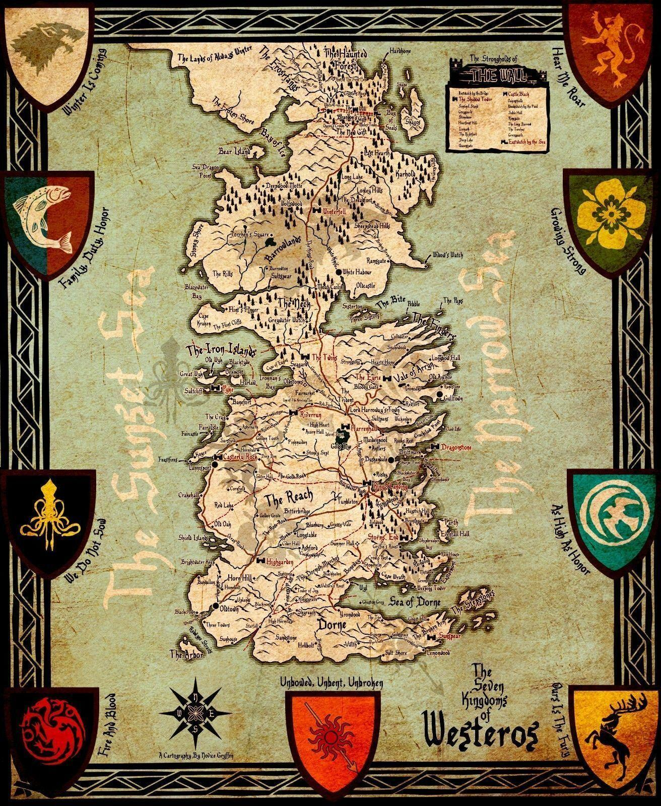 Game Of Thrones Houses Map Westeros Art Silk Poster 24x36inch 24x43inch Game Of Thrones Map Westeros on game of thrones map print, westeros cities map, game of thrones map labeled, game of thrones ireland map, game of thrones map wallpaper, game of thrones map official, game of thrones subway map, the citadel game of thrones map, game of thrones essos map, game of thrones map of continents, game of thrones map poster, from game of thrones map, game of thrones detailed map, game of thrones map clans, game of thrones world map printable, game of thrones astapor map, game of thrones map the south, crown of thrones map, harrenhal game of thrones map,