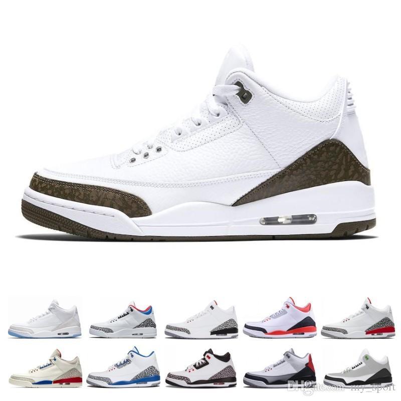 Новая продажа Мужчины Баскетбол обувь СЕУЛ Katrina Мокко Благотворительность игры Pure White Инфракрасная Fly Black III спортивной обуви дизайнер кроссовки 8-13