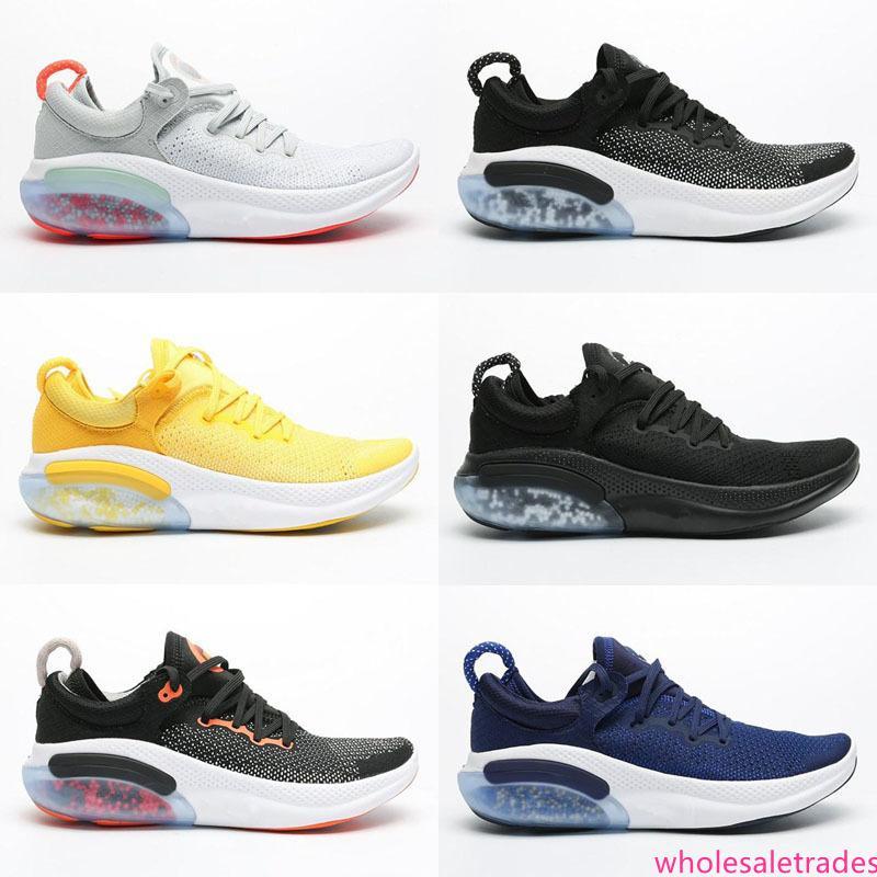2019 Joyride Run FK nanoparticella ammortizzazione Mens Donne Scarpe Nero Bianco Triple Platinum Racer Rosso progettisti delle scarpe da tennis Taglia 36-45 Esecuzione