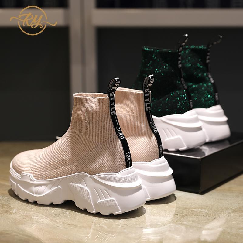 RY RELAA Women Sneakers 2018 Platform