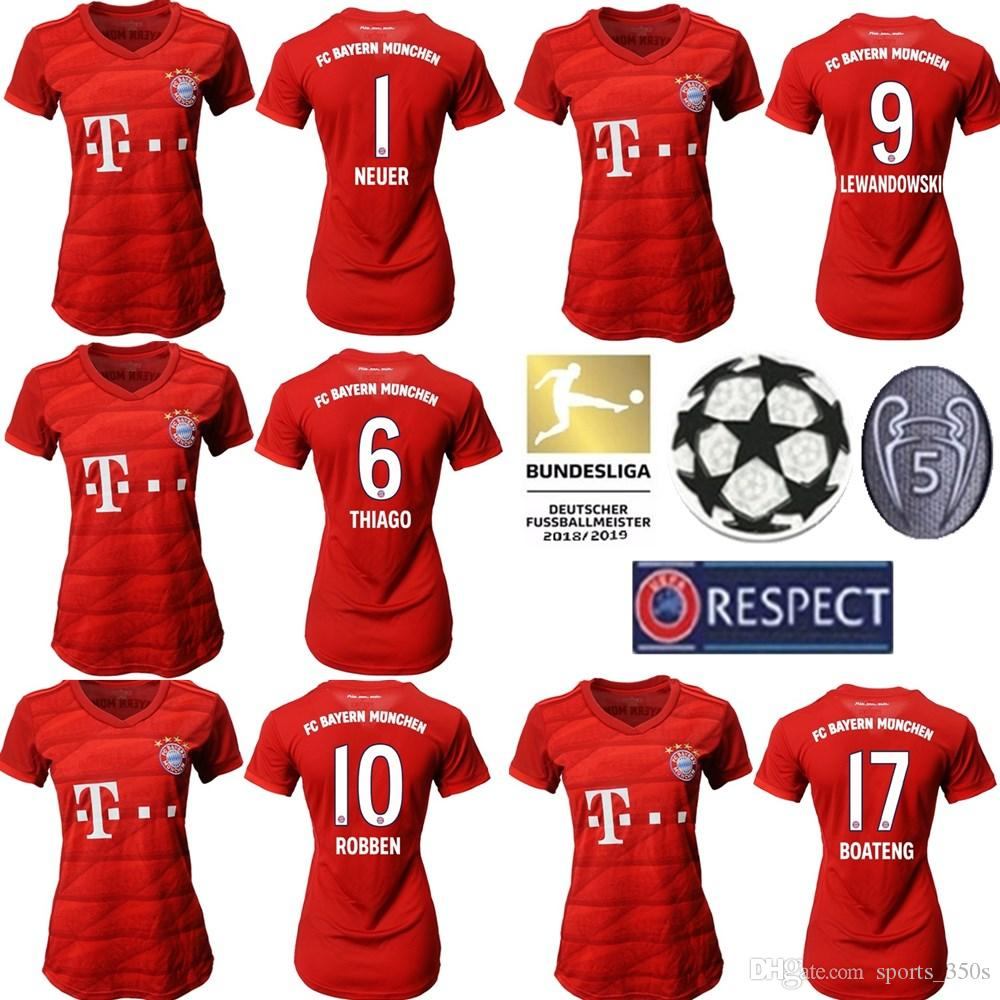2020 2019 Fc Bayern Munich Pavard Soccer Jerseys Girls 2020 Lewandowski Muller Jersey Kit 19 20 Home Away 3rd Vidal Football Shirt Women Set From Sports 350s 17 62 Dhgate Com