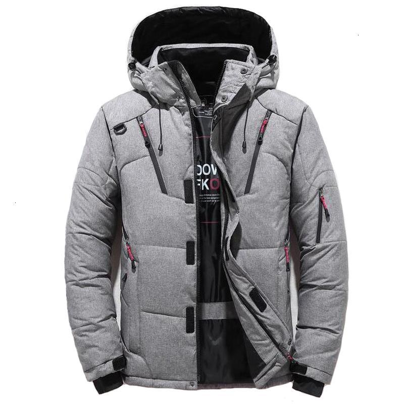 Winter Coat Men Hooded Parka Jacket Down Warm Coats Mens Outwear Windbreaker Thicken Parkas Casaco Masculino Brand Clothing