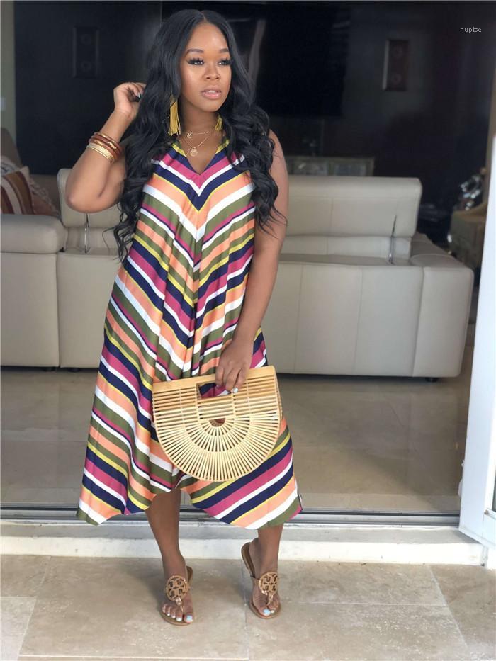 Imprimer Femme Vêtements Mode Casual Style Vêtements Femmes Robes d'été Designer Halter Sexy manches Backless Floral