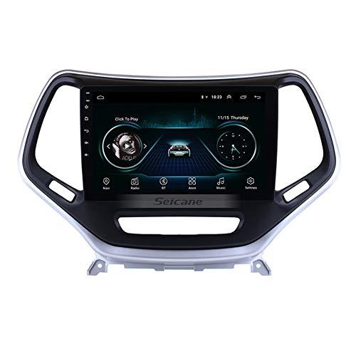 10,1-Zoll-Android 9.0 Touchscreen Autoradio für 2016 Jeep Grand Cherokee GPS-Navigationssystem WIFI Bluetooth SWC
